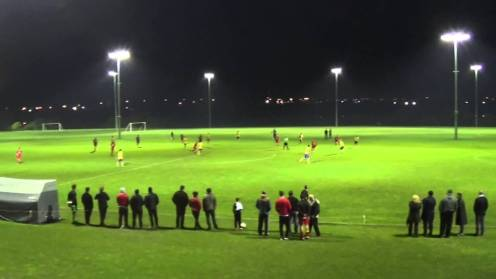 pitches under lights